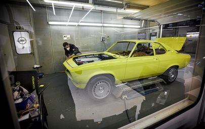 Opel Manta GSe ElektroMOD: The Dream, the Team, the Technology