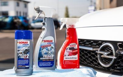 Spring Cleaning With Right Care Products From Opel Dealers