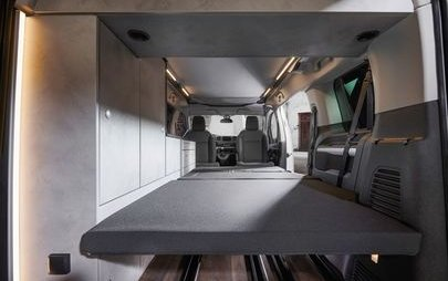 Conversion Specialists Crosscamp Turn Opel Zafira Life into Camper