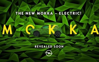 Electric! New Opel Mokka Takes to the Road